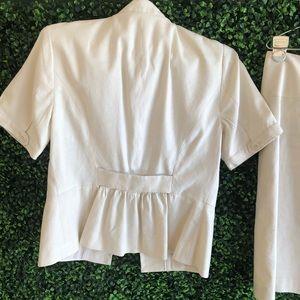 Banana Republic Dresses - Cream suit